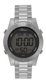 Relógio Condor Masculino Digital Prata Cobj3463ab/2k