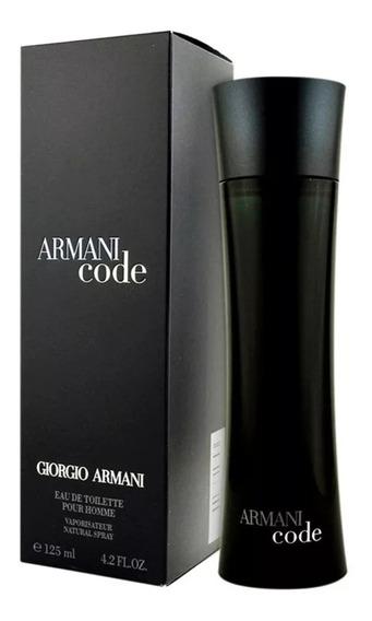 Armani Code 125ml Eau De Toilette Perfume Masculino