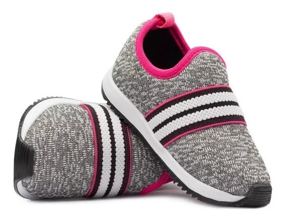 Tenis Infantil Feminino Casual Jogging Barato