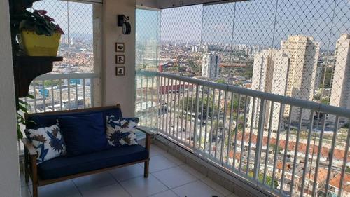 Imagem 1 de 17 de Apartamento Com 3 Dormitórios À Venda, 92 M² Por R$ 850.000 - Tatuapé - São Paulo/sp - Ap2803