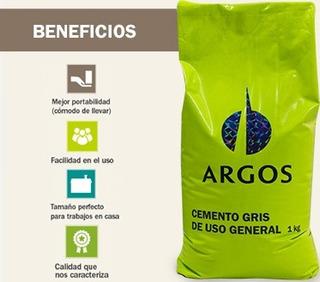 Cemento Gris Uso General Argos X 1 Kilogramos