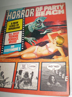 Horror Of Party Beach Fotonovela Cine Famous Monsters Terror