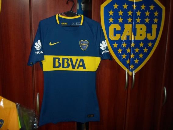 Camiseta Slim Fit Boca Juniors Temporada 2017-18 Titular