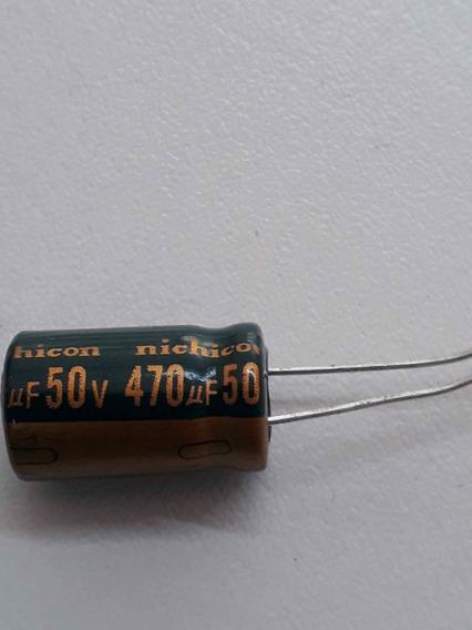 30pç Capacitor Eletronico 50v/470uf