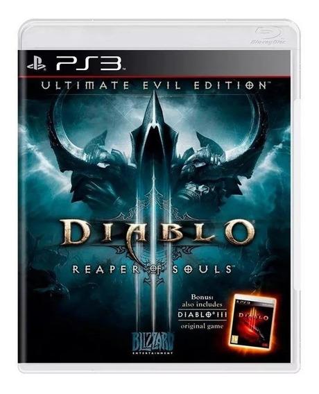 Diablo 3 Reaper Of Souls Ps3 Novo Lacrado ( Em Espanhol )