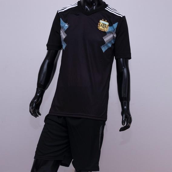 Conjunto Argentina Camiseta Short Por Mayor Y Unidad