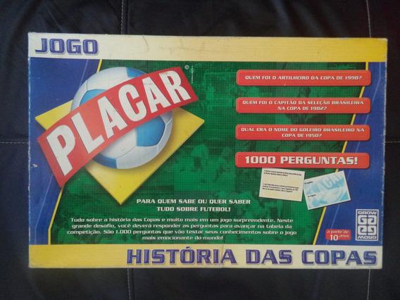 Jogo Placar - História Das Copas