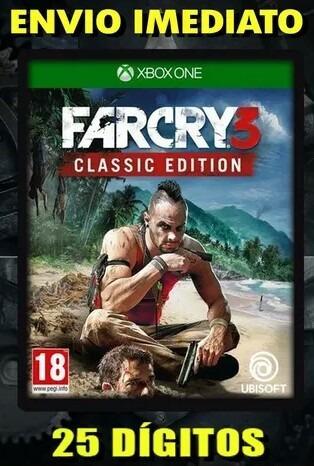 Far Cry 3 Xbox One 25 Dígitos Frete Grátis Envio Imediato