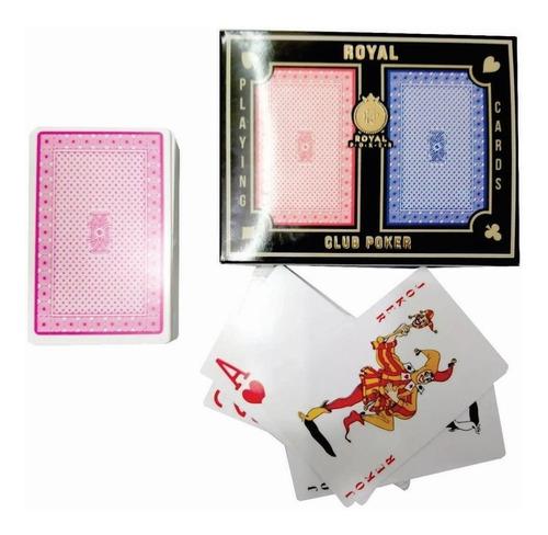 Naipes De Poker Royal 2 Mazos