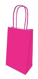 Sacola De Papel Festa Colors Pink 08 Unidades