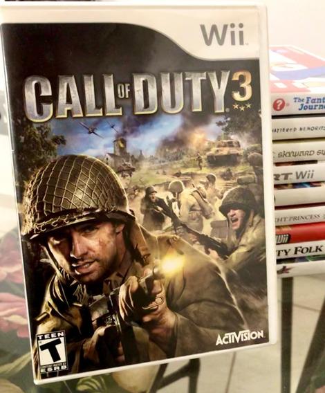 Jogo Call Of Duty: Modern Warfare 3 -wii (nintendo Original)