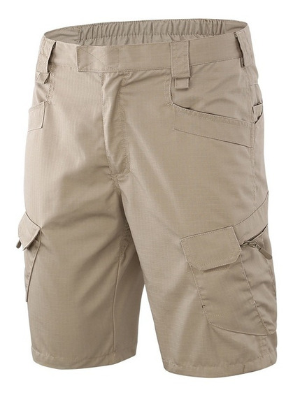 Shorts Bermudas Tacticas Ix7 Outdoor Repelente Agua Tactico