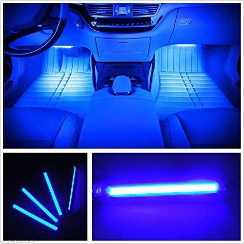 Imagen 1 de 7 de Luces Led De Interior De Carro 4 Tiras De 36 Led 12 V Cc Imp