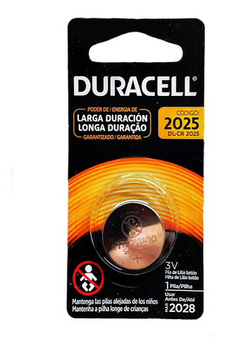 Duracell Pila 2025 3v X 6 Unidades