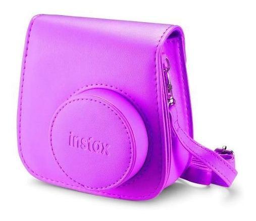 Bolsa P/ Câmera Instantânea Instax Mini 8 E 9 - Roxo