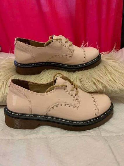 Zapatos Charol Rosa