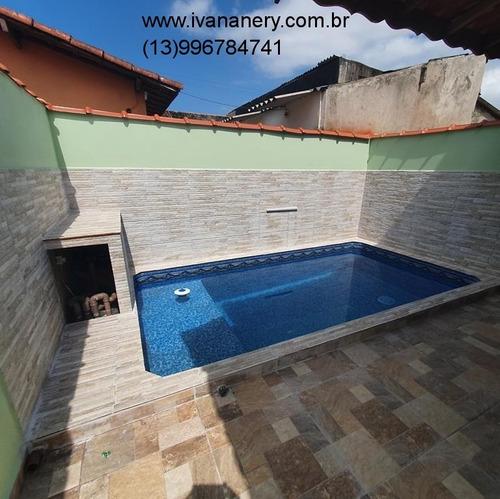 Imagem 1 de 23 de Casa Nova Com Piscina. - Ca00040 - 69329519