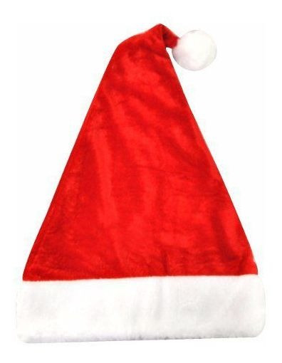 Gorro Papai Noel Veludo 40 Cm - Rio Master