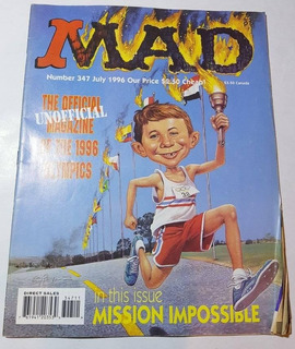 Revista Mad En Ingles Numero 347