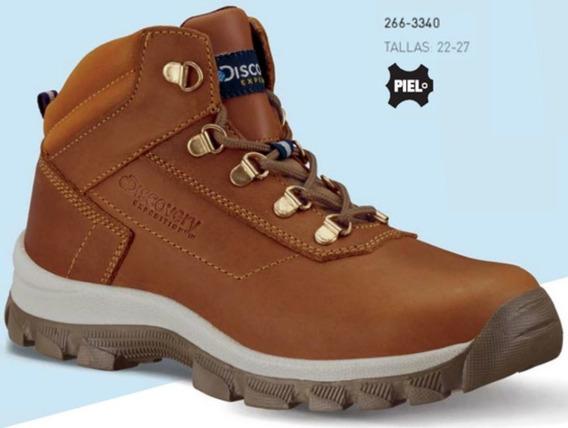 Zapato Discovery Ajusco 2411 P/ Dama Tallas 22-27mx