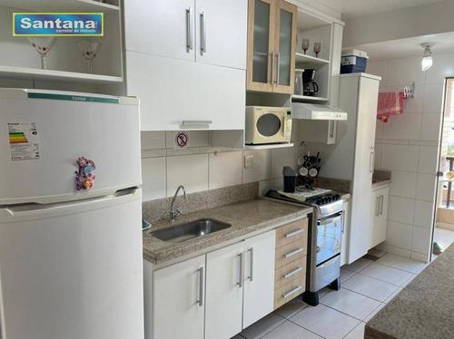 Imagem 1 de 30 de Apartamento Com 2 Dormitórios À Venda, 67 M² Por R$ 220.000,00 - J Jeriquara - Caldas Novas/go - Ap0847
