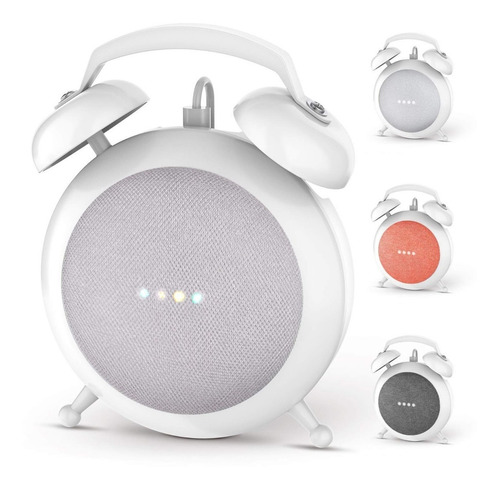 Google Home Mini + Base Tipo Reloj
