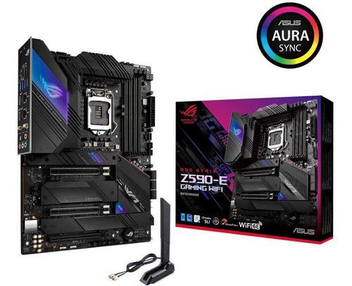 Motherboard Asus Rog Strix Z590-e Gaming Wifi S1200 Intel