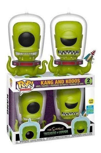 Pop! Funko Simpsons Kang E Kodos Edição Especial #2 2019