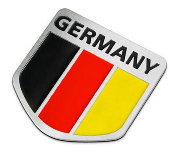 Emblema Alemanha Vw Jetta Golf Gol Fox Saveiro Fusca Bmw