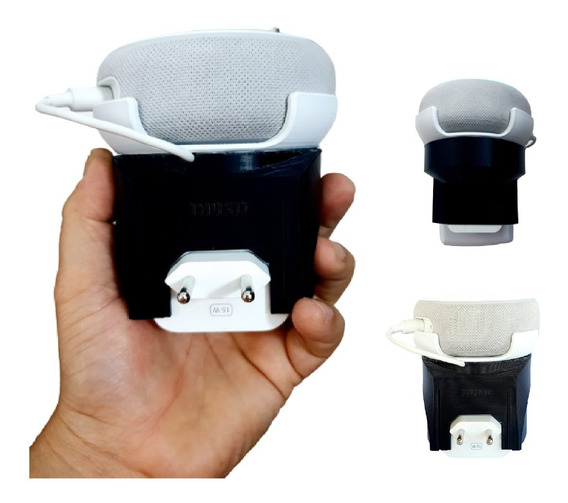 Suporte De Tomada Amazon Alexa Echo Dot 3