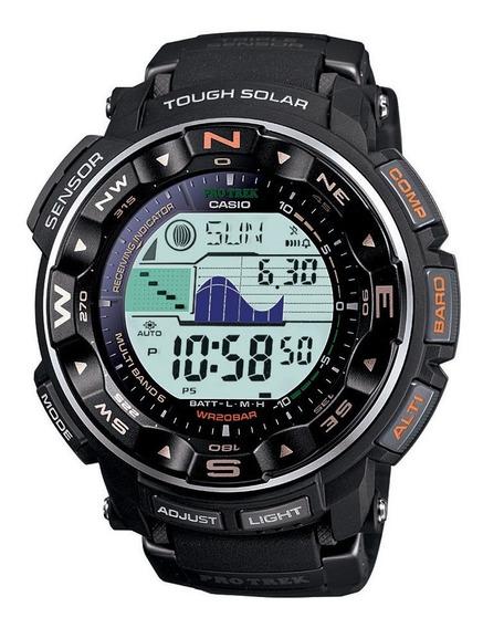Reloj Solar Casio Protrekprw-2500r-1cr Pro Trek, Para Hombre