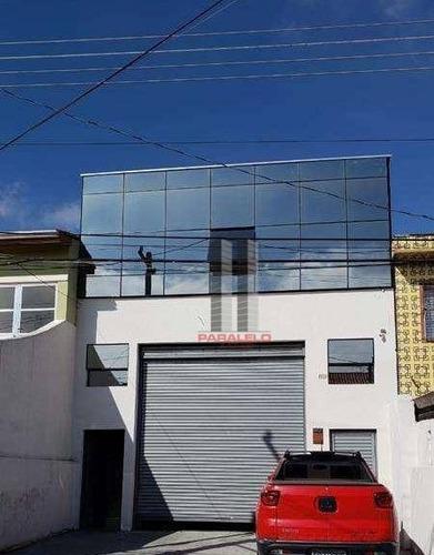Galpão À Venda, 260 M² Por R$ 1.100.000,00 - Vila Lúcia - São Paulo/sp - Ga0372