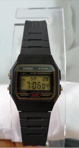 Reloj Casio Original  F-91wg-9qdf Nuevo Vintage Tienda
