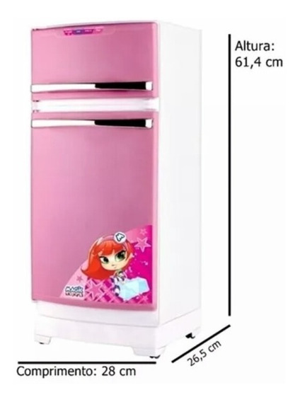 Geladeira Mágica Para Cozinhai Infantil 8051