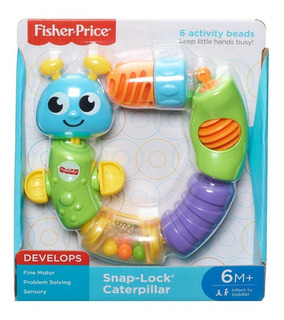 Fisher Price Oruga Cadena De Colores