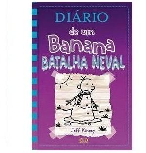 Diário De Um Banana Batalha Neval Volume 13 + Poster C. Dura