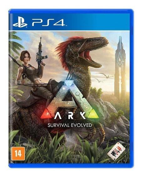 Ark Survival Evolved Ps4 Mídia Física Novo Lacrado
