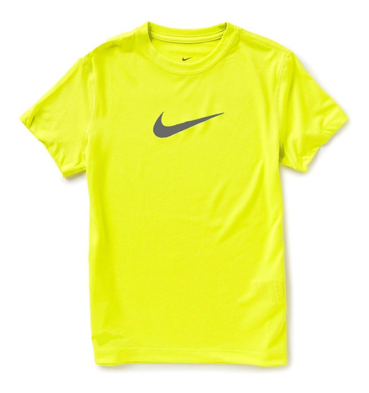 Playera Nike Niño Fluorecente