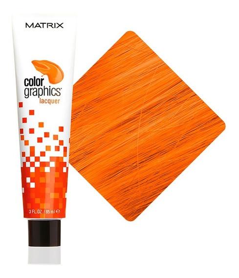 Tinte Colorante Color Graphics Hair Semi Naranja Matrix