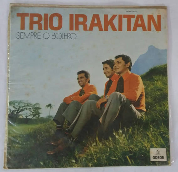 Lp - Trio Irakitan - 1970 - Odeon - Mono