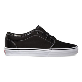 Tênis Vans 106 Vulcanized Black White