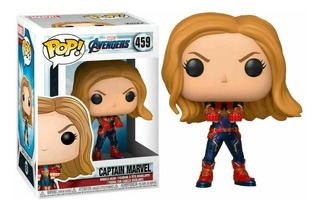 Funko Pop Marvel Avengers Endgame 459 Captain Marvel Stock