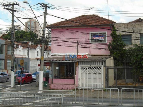 Imagem 1 de 11 de Esquina Para Venda, 419 M² Ac Por R$4.300.000 - Água Branca - São Paulo/sp (imóvel Já Locado Parcialmente No Térreo Para Uma Lanchonete). - Ca0907
