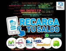 Recarga Tu Saldo Movistar Digitel Movilnet Las 24 Horas 25%