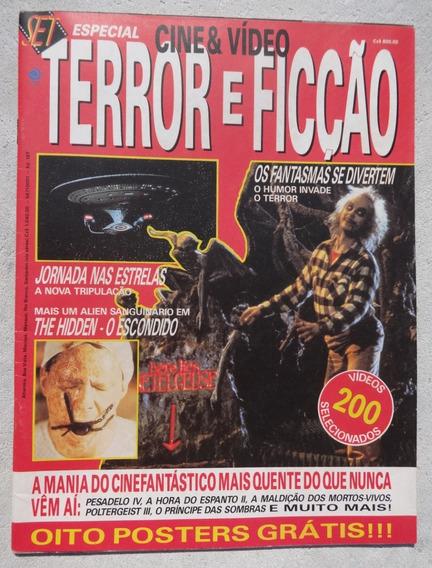 Set Especial Terror E Ficção Nº 1 Inclui Os Posters 1988