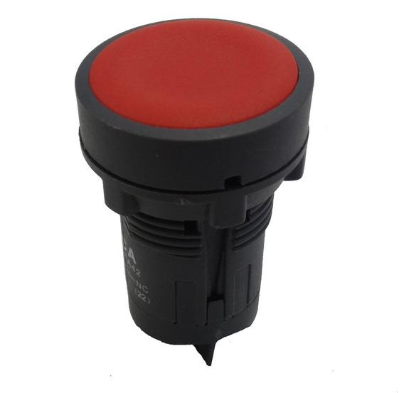 Botão De Impulso X B 7/ E A 42 Vermelho - 1 Nf / Cca