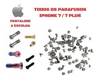 Kit Completo De Parafusos Para iPhone 7 /7 Plus Apple