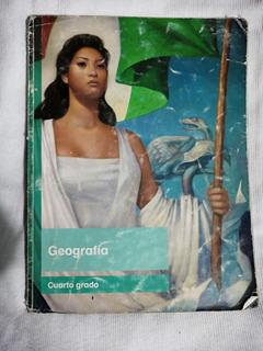 Libro Geografía, Cuarto Grado.