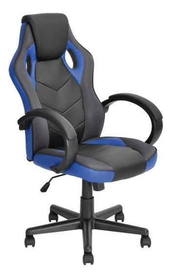 Silla Gamer Ergonomica Azul