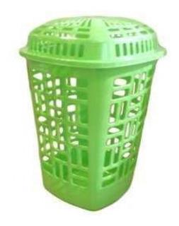 Canasto Organizador Cesto De Plastico Quality Calado